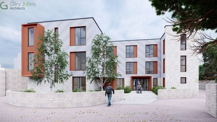 Digital renders of what St Mary's Surgery in Ely will look like if expansion plans are approved. Picture: Gary Johns...
