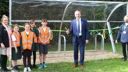 All Saints Inter-Church Academy received funding for a new bike shelter which was constructed by volunteers from the...