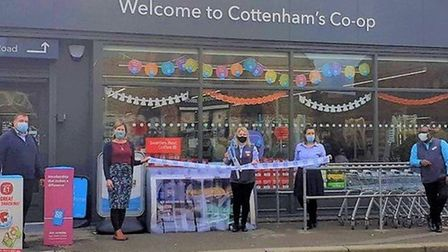 The Co-op store on High Street, Cottenham has reopened after it received a £525,000 investment. Picture: CO-OP