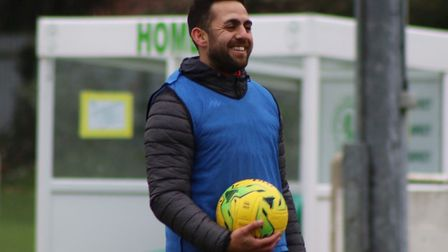 Soham Town Rangers player-assistant boss Erkan Okay (pictured) believes the team must be consistent in their performances...