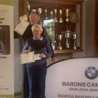 The March Golf Club pair of Sandra and Mick Russell (pictured) after they won a tournament in aid of the Arthur Rank...