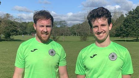 Andy Reed and Jack Shaw scored for High Easter against Haver Town.