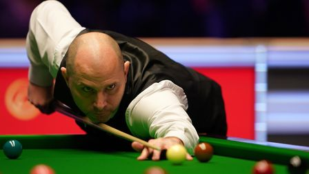 Joe Perry revealed he is not enjoying snooker anymore, despite progressing in the English Open. Picture: TESS DERRY/PA...