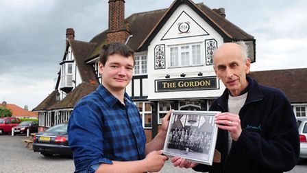Landlord Josh Dickens and historian Nick Williams discuss the history of The Gordon pub in Thorpe.Ph