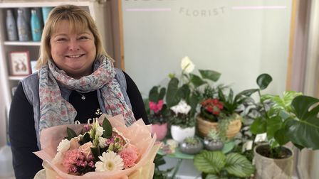 Stephanie Harris of florist business The Rose Garden in Great Dunmow. Picture: THE ROSE GARDEN