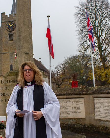 Remembrance Sunday in Chatteris was held with a small, official ceremony will take place at the war memorial at 11am with...