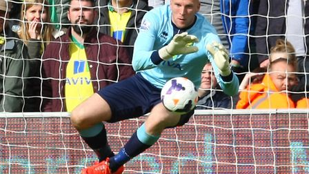 John Ruddy is another Norwich City player David Powles hopes will stay, Picture by Paul Chesterton/F