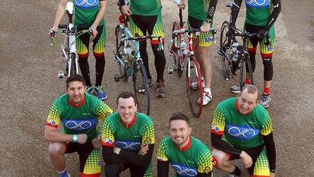 RMG Photography - 9th May 2014Members of the Pedalling Paramedics who are cycling a 999 mile maratho