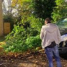Stolen car recovered. Part of crime prevention theme day by Cambridgeshire police, who hand delivered letters to homes...