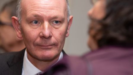 Darryl Preston, elected by the Conservative Party to be their candidate for Cambridgeshire Police and Crime Commissioner.