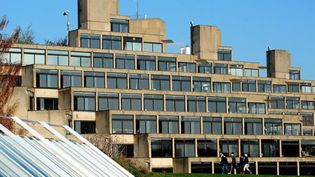 Library picture of the UEA. Picture: Bill Smith