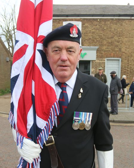 Whittlesey fell silent to remember the fallen on Armistice Day as families and friends lined the streets near the town's...