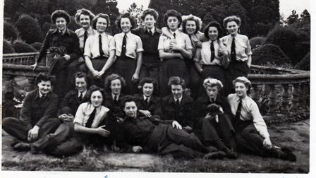 RAF Women's Auxiliary Air Force members at Easton Lodge. Picture: THE GARDENS OF EASTON LODGE PRESERVATION TRUST