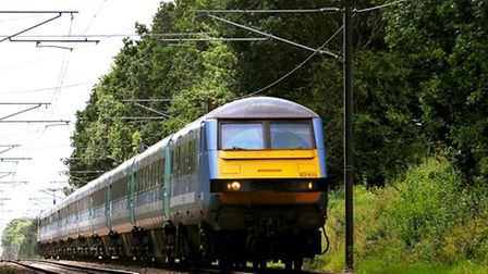 Train users heading from Norwich to London this weekend face disruption.