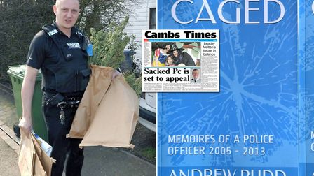 Andrew Rudd was dismissed from Cambridgeshire Constabulary in 2013 and he explains all in his new book called Caged...