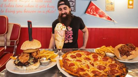 Shooters American Diner in March set YouTuber BeardMeatsFood a challenge and he absolutely smashed it. Picture...