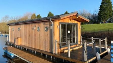 Floating lodges could be on their way to the Lazy Otter marina at Stretham, Picture; LAZY OTTER