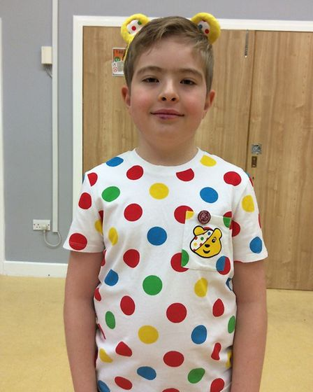 Great Dunmow Primary School raised money for BBC Children In Need Day 2020. Picture: GREAT DUNMOW PRIMARY SCHOOL
