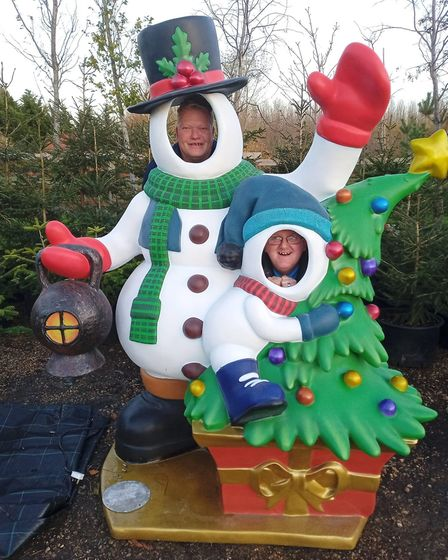 Megaplants in Doddington have welcomed the arrival of two snowmen in a bid to raise funds for Children in Need during the...