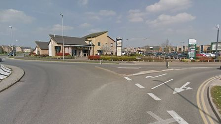 Cardea/Morrisons roundabout near Whittlesey could be where a relief road from Coates and Eastrea finishes. A study - if...