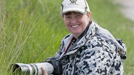 Wildlife enthusiast and photographer Jill Wilson, from Norwich, who has organised the first ever Nor