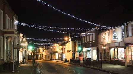 From our archive: Dunmow Christmas lights