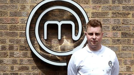 Alex Webb of Great Dunmow created a main course and a dessert for MasterChef judges. Picture: MASTERCHEF