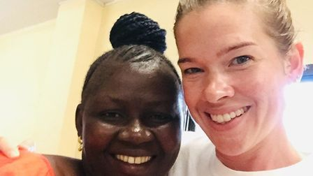 Sarah Cross, a nurse who moved to Sierra Leone to work in medicine learning and development, was the guest speaker at Ely...