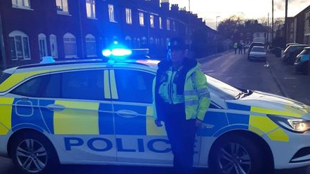 After a suspected bomb was found on Norwood Road in March, police closed off the area. Picture: FACEBOOK/POLICING FENLAND