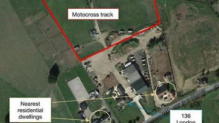 A children's moto cross track at London Road, Chatteris, and for family use is subject to an application to Fenland...