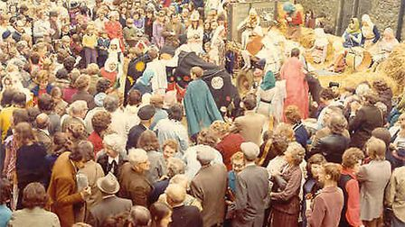 November 1973 and the historic visit by the Queen to Ely. Pictures; Archives