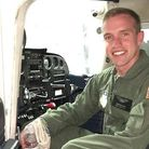 Kenneth Allen died in June 2020 when his aircraft from RAF Lakenheath crashed into the North Sea. Picture: FACEBOOK