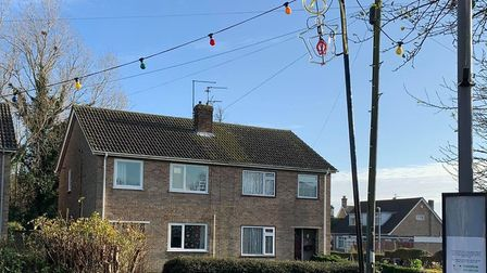 Doddington Christmas Lights committee have urged residents not to touch the illuminations after one of its poles was found...