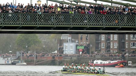 Ely will host the 2021 edition of the Boat Race after it was moved from the Thames. Picture: ADAM DAVY/PA