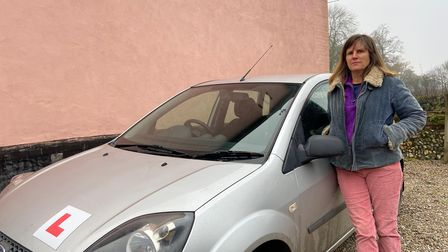 Morningthorpe mum Jane Sargent, whose son was not allowed to take his driving test