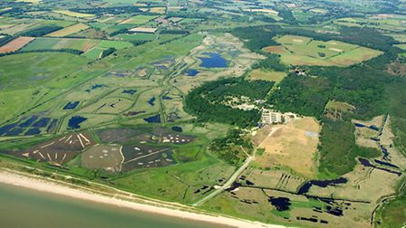 Minsmere nature reserve in Suffolk.
