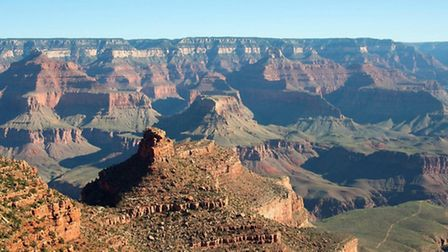 Grand Canyon. Picture from TrekAmerica.