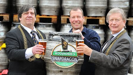 Woodforde's is brewing a special beer called Snapdragon for the Lord Mayor and Sheriff's ball at the