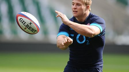 England's Tom Youngs.