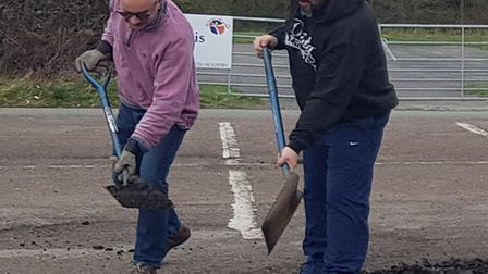 The Ely Outdoor Sports Association are calling on the local community to help support its project to resurface its car...
