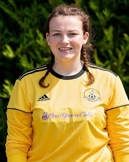 Jessica Krauss (pictured) said she is not worried about Covid-19 and cannot wait to return back to the pitch. Picture...