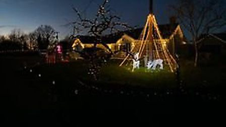 The Bosher's display in Aythorpe Roding. Picture: PETER BOSHER