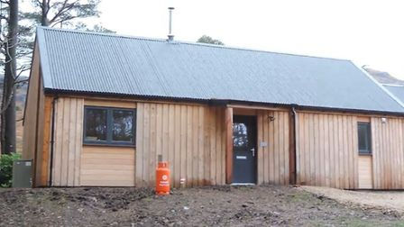 The new family home in the Isle of Rum. Picture: Supplied