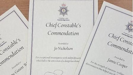 Cambridgeshire Police's Chief Constable?s Commendations and Long Service Ceremony took place on December 2 with awards...