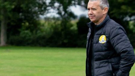 Gary Davis (pictured) did not expect his March Town Ladies team to return to action before Christmas, which they are...