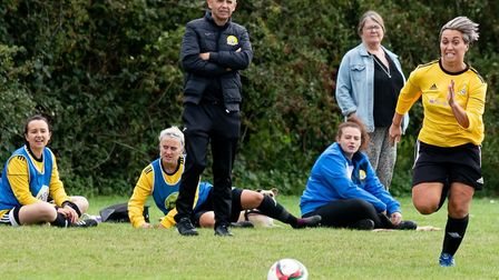 Gary Davis did not expect his March Town Ladies team to return to action before Christmas, which they are planned to do...