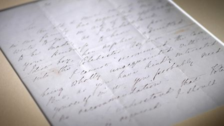 A letter written by Florence Nightingale will be on show at Cromer Hospital. PHOTO: ANTONY KELLY