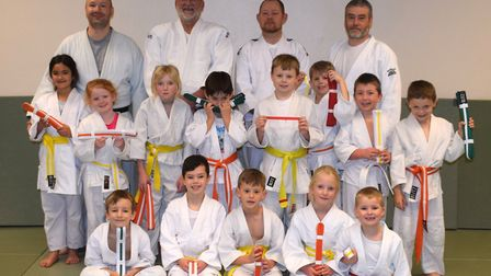 Members of Witcham Judo Club, who will attend the new Ely dojo when it opens. Picture: SUPPLIED/STUART ALDOUS