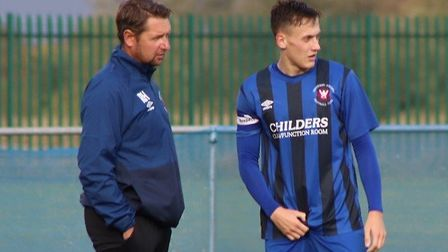 Whittlesey Athletic captain Harry Jenkins (right) believes not all of his side's results this season have been down to...