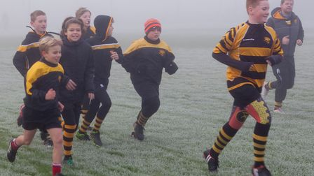 Will Garner and Caiden Smith, who play for Ely Tigers, came together after smashing their fundraising targets through...